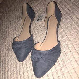 Knotted pointed flats